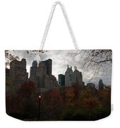 One Light On In Central Park Weekender Tote Bag
