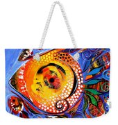 One Lives Through Two Weekender Tote Bag