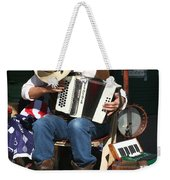 One Man Band Weekender Tote Bag