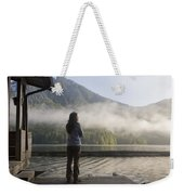 One Person, Woman, Mid Adult, 30-35 Weekender Tote Bag