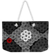 One Red Flower Weekender Tote Bag