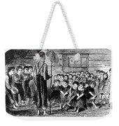 One-room Schoolhouse, 1883 Weekender Tote Bag