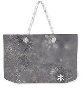 One Shining Snowflake Weekender Tote Bag