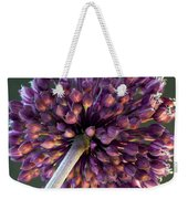 Onion Flower Weekender Tote Bag