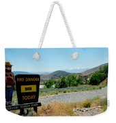 Only You Can Prevent Wildfires Weekender Tote Bag