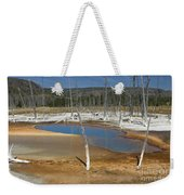 Opalescent Pool Of Yellowstone Weekender Tote Bag