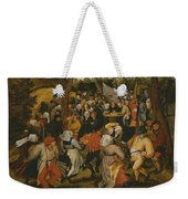 Open Air Wedding Dance Weekender Tote Bag by Pieter the Younger Brueghel