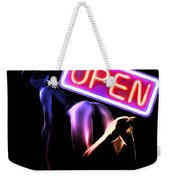 Open For All Weekender Tote Bag