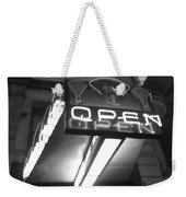 Open For Business Bw Weekender Tote Bag