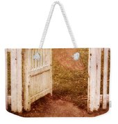 Open Gate To Cottage Weekender Tote Bag