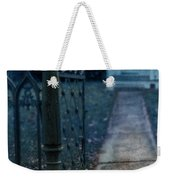 Open Iron Gate To Old House Weekender Tote Bag