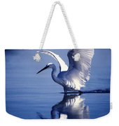 Open Over Blue Weekender Tote Bag