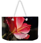 Open Rose After The Rain Weekender Tote Bag