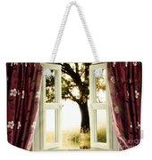 Open Window To Tree Weekender Tote Bag