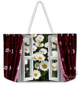 Open Windows Onto Large Daisies Weekender Tote Bag