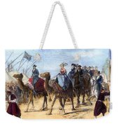 Opening Of The Suez Canal Weekender Tote Bag