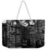 Operating Room - Eastern State Penitentiary - Black And White Weekender Tote Bag