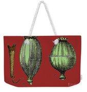 Opium Harvesting Weekender Tote Bag