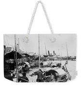 Opium Trader - Hong Kong Harbor - C 1901 Weekender Tote Bag
