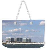 Orange Beach Weekender Tote Bag