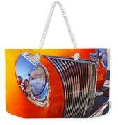 Orange Beauty Weekender Tote Bag