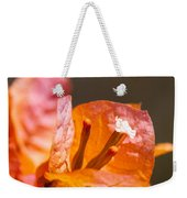 orange Bougainvillea Weekender Tote Bag