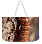 Orange Caterpillar Weekender Tote Bag