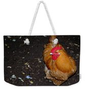 Orange Chicken Weekender Tote Bag