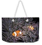 Orange Clownfish In An Anemone Weekender Tote Bag