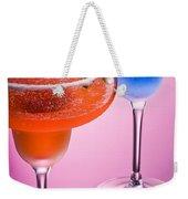 Orange Cobalt Margarita Weekender Tote Bag