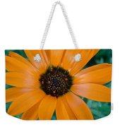 Orange Daisy Weekender Tote Bag