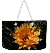Orange Echinopsis Flower  Weekender Tote Bag