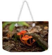 Orange Mushrooms Weekender Tote Bag