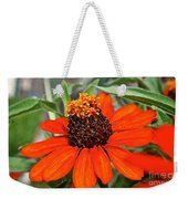 Orange Petals Weekender Tote Bag