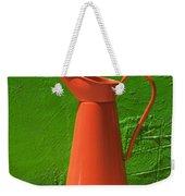 Orange Pitcher Weekender Tote Bag