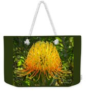 Orange Protea Flower Art Weekender Tote Bag
