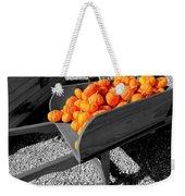 Orange Pumpkin Harvest Weekender Tote Bag