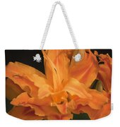 Orange Ruffles Weekender Tote Bag