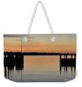 Orange September River Weekender Tote Bag