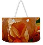 Orange Sherbert Weekender Tote Bag