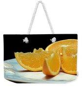Orange Slices Weekender Tote Bag