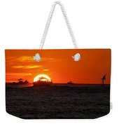 Orange Sunset IIi Weekender Tote Bag
