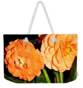 Orange Tuberous Begonias Weekender Tote Bag