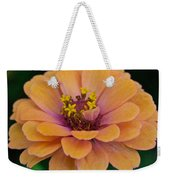 Orange Zinnia_9475_4267 Weekender Tote Bag