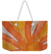 Oranje Bloemblaadje Weekender Tote Bag
