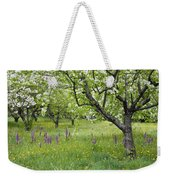 Orchard With Flowering Orchids Weekender Tote Bag