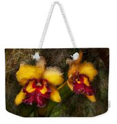 Orchid - Cattleya - Dripping With Passion  Weekender Tote Bag