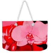 Orchid 3 Weekender Tote Bag