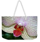 Orchid Close Up Weekender Tote Bag