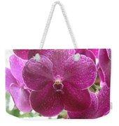 Orchid Cluster Weekender Tote Bag